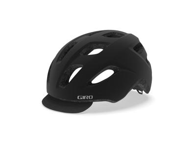 Giro Trella - Cykelhjelm - Str. 50-57 cm - Mat Sort/Sølv
