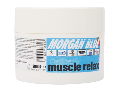 Morgan Blue Muscle relax - Lindrande kräm - 200 ml