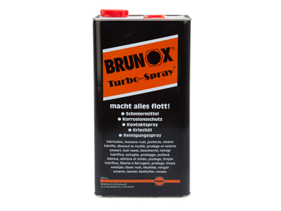 Turbo-Spray Brunox 5L 5 Funktioner