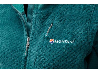 Montane Womens Wolf Hoodie - Fleecejakke - Dame - Turkis