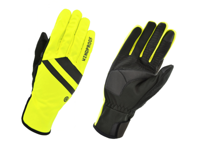 AGU Essential Windproof Handskar - Yellow Fluo