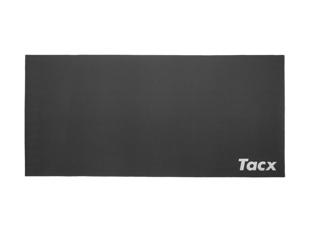 Tacx træningsmåtte til hometrainer - 180x85x0,6 cm - Sort