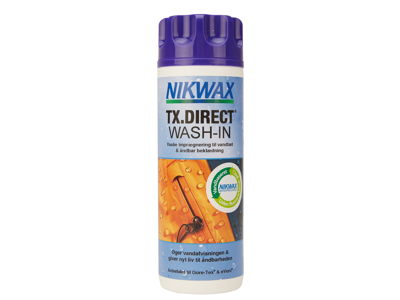 Nikwax TX-Direct Wash-in - Impregneringstvätt till vattentäta kläder - 300 ml