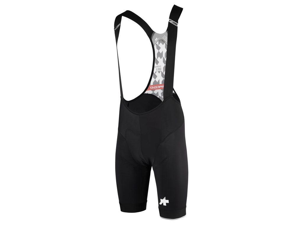 Image of   Assos T Equipe Evo - Bibshorts med pude - Mand - Sort m. print - Str. S
