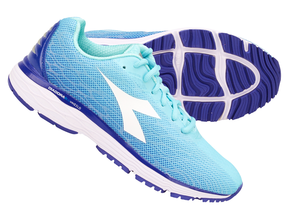 Image of   Diadora - Mythos Blushield Fly 2 - Dame - Str. 37 - Aqua Splash/Clematis Blue