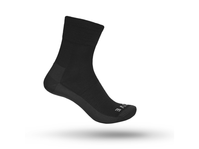 GripGrab Merino Lightweight Sock SL 3015 - Cykelstrømpe - Sort - Str. S