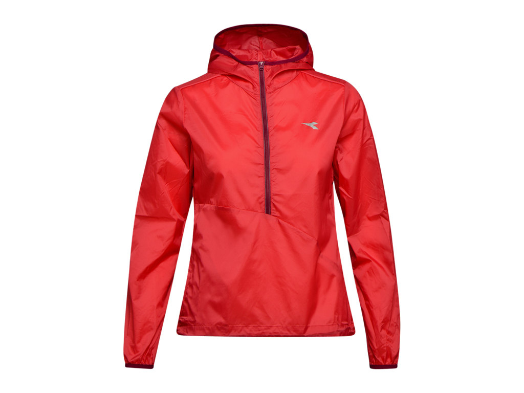 Image of   Diadora L. X-Run Jacket - Løbejakke Dame - Rød - Str. L