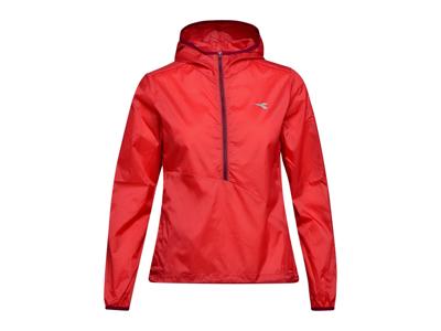 Diadora L. X-Run Jacket - Långjacka för kvinnor - Röd