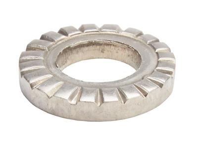 Bricka för framhjuls axel