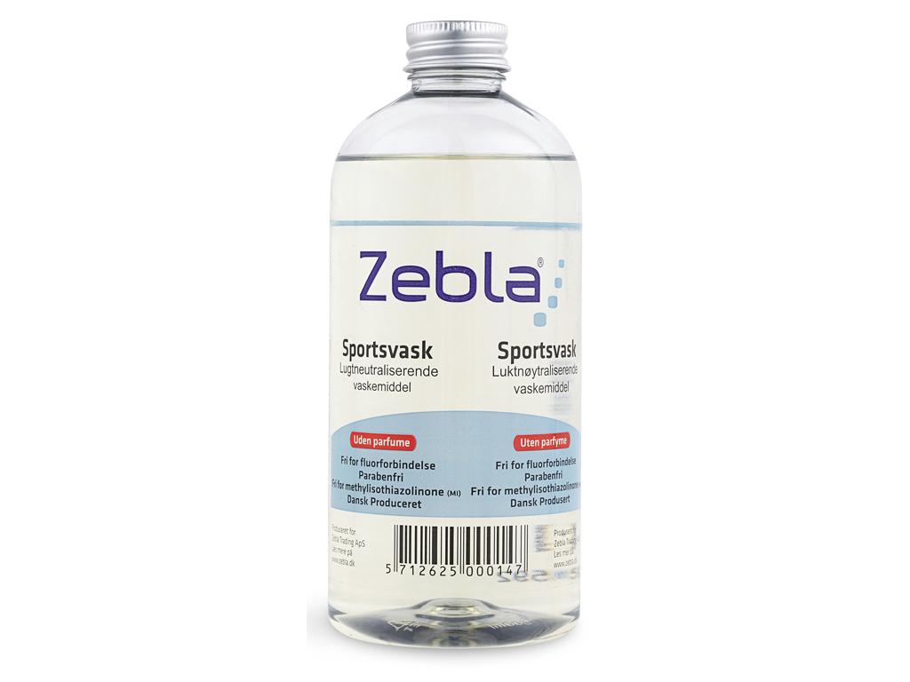 Zebla Sporttvättmedel - Parfymfri - 500 ml