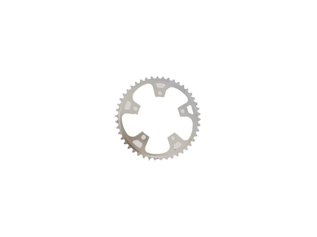 Stronglight klinge - 38 tands - ø110 - 5 huller - 9/10 speed - Dural alu - Sølv thumbnail