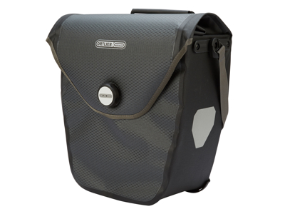 Cykelväska Ortlieb Velo-Shopper grå/svart 20 liter