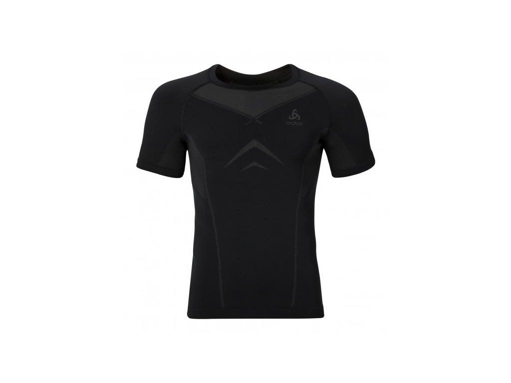 Image of   Odlo - Evolution light - Basislag - T-shirt - Herre - Sort/grå - Str. S