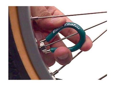 Nippelnøgle Park Tool SW-1 Grøn med 3,30mm kæbe