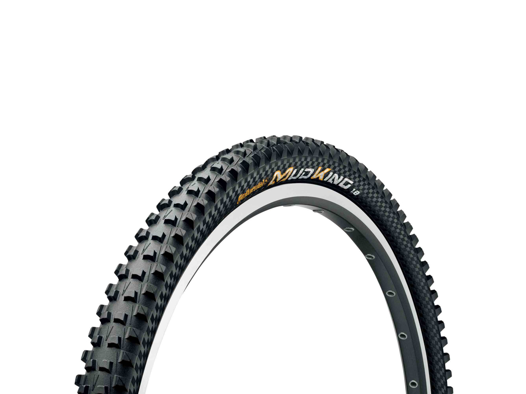 Image of   Continental Mud King Protection - Tubeless ready foldedæk - 29 x 1,8 / 47-622 - Sort