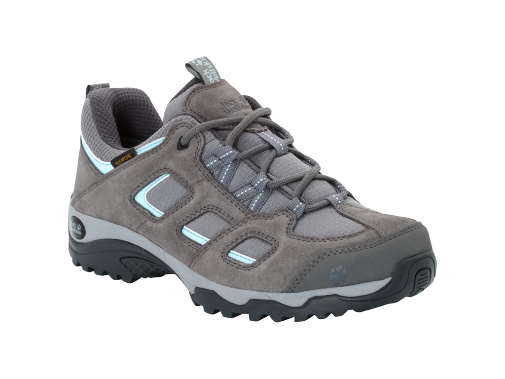 Image of   Jack Wolfskin Vojo Hike 2 Texapore Low W - Vandrestøvle - Dame Str. 40 - Tarmac grey