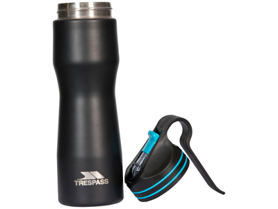 Trespass Imbrium - Termoflaske 0,4 liter - Rustfri stål - Sort