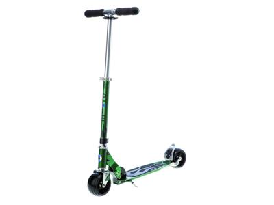 Micro Rocket - Sparkcykel till vuxna - Aluminium - Grön