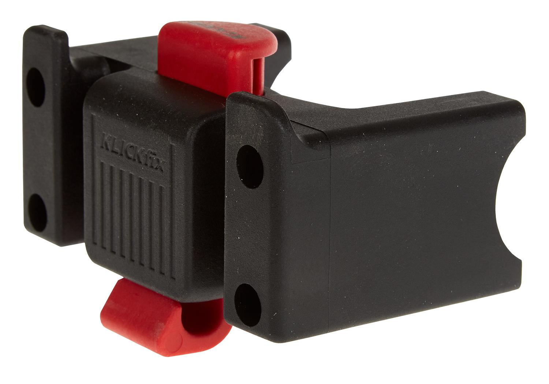 KLICKfix styradapter til kurv og tasker - Passer til styr på 22 - 31,8mm i diameter | Handlebars
