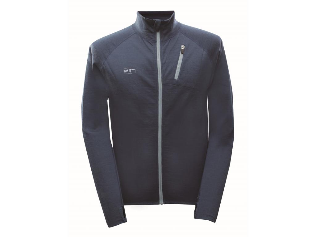 2117 Of Sweden Alltorp Merino Wool Jacket - Fritidsjakke - Herre - Navy - Str. L thumbnail