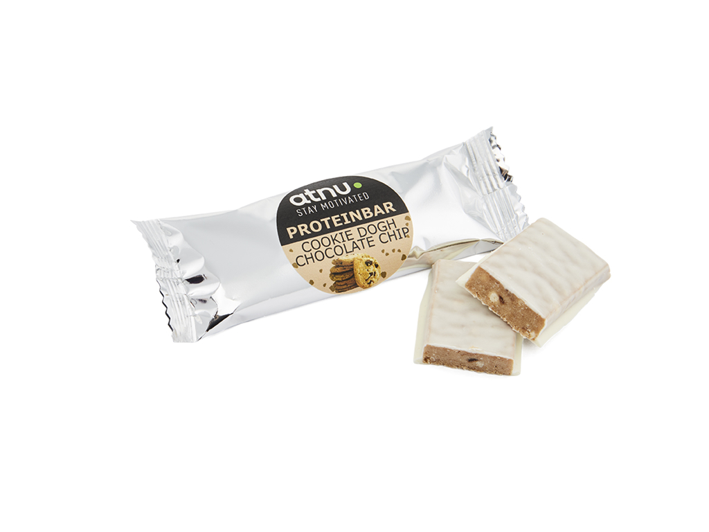 Image of Atnu Snackproteinbar - Cookie Dough - 35 gram