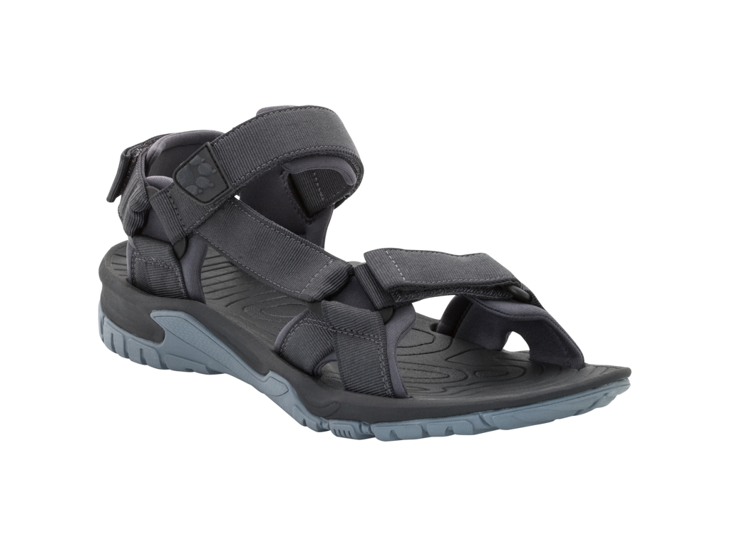 Jack Wolfskin Lakewood Ride - Sandal - Hr. Str. 44,5 - Ebony thumbnail