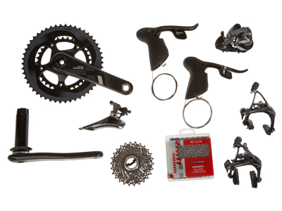Sram Force 22 geargruppe - BB30 - 2x11 gear mekanisk