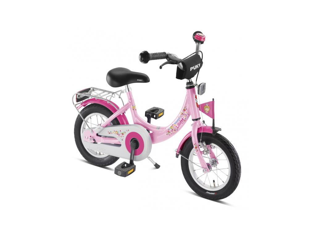 "Billede af Pigecykel Puky ZL 12 Alu 12"" Lyserød/Pink Lillifee"