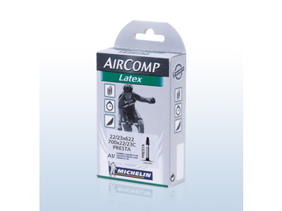 Michelin Aircomp latex slange - 700x22-23C - 60 mm racerventil