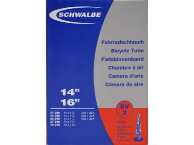 """Schwalbe slange 14x1 3/8"""" Racer ventil SV2"""