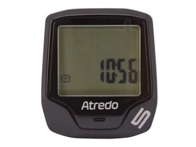 Atredo - M5 - Cykeldator med 5 funktioner och ledning - Svart