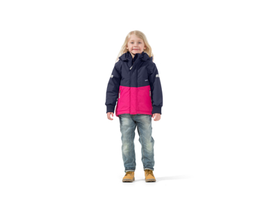 Didriksons Härje Kids - Vinterjakke - Pink