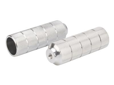 Pegs til BMX cykler -  Aluminium Sølv med 10mm gevind