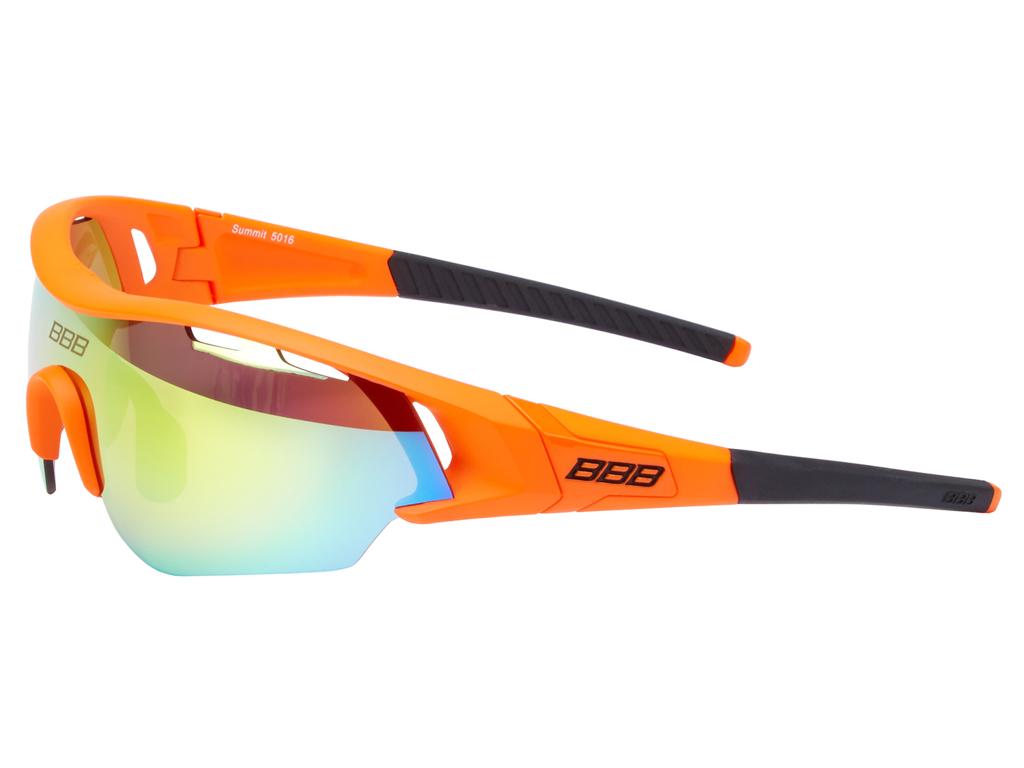 Image of   BBB - Løbe- og cykelbrille Summit - 3 sæt linser - Matorange