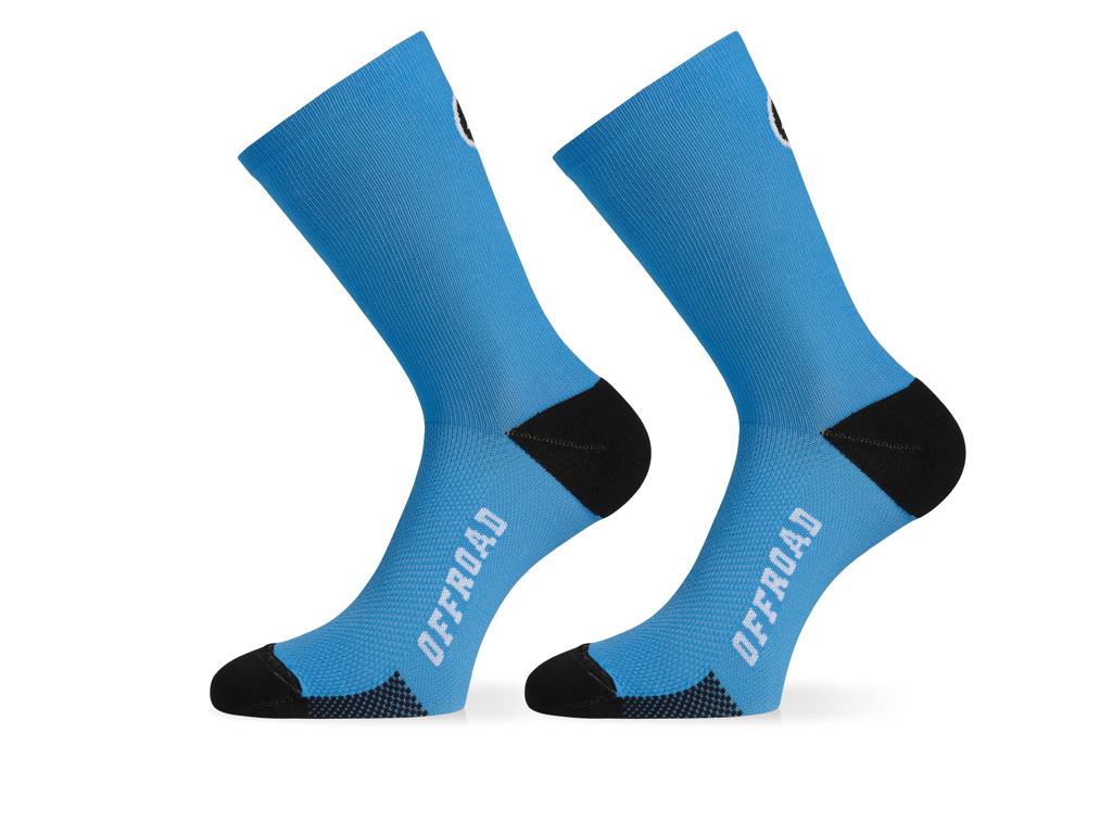 Assos XC Socks - Cykelstrømpe - Blå - Str. I thumbnail