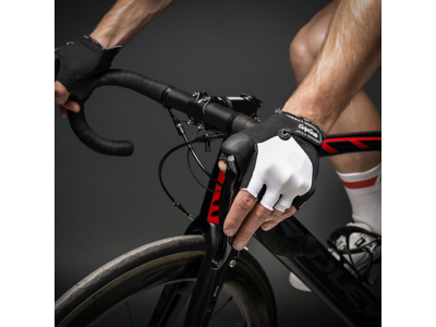 Cykelhandskar GripGrab ProGel vit