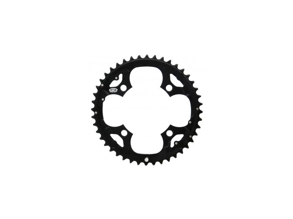 Shimano Deore klinge - 44 tands sort - Type FC-M530 - 9 gear