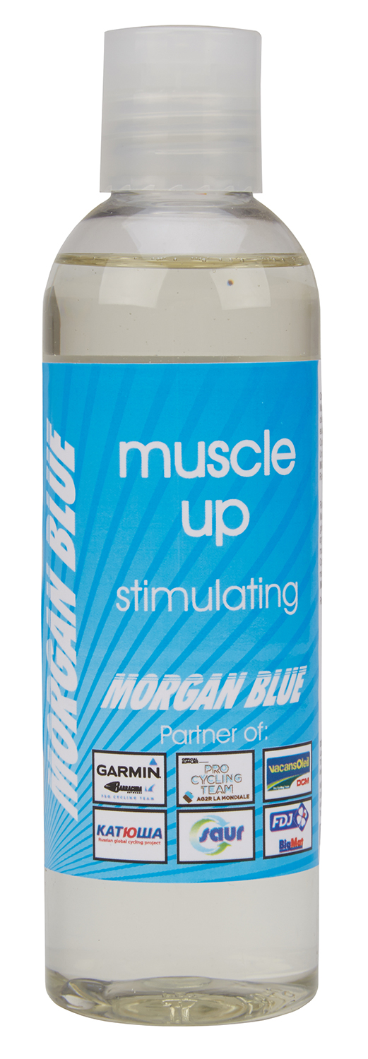 Morgan Blue Muscle Up - Muskelstimulerende olie - 200ml | polish_and_lubricant_component