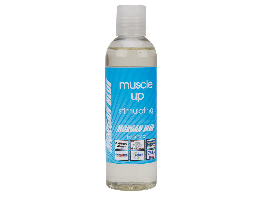 Morgan Blue Muscle Up - Muskelstimulerende olie - 200ml thumbnail