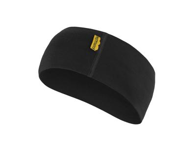 Sensor Merino Active Headband - Uld Pandebånd - Sort - OneSize