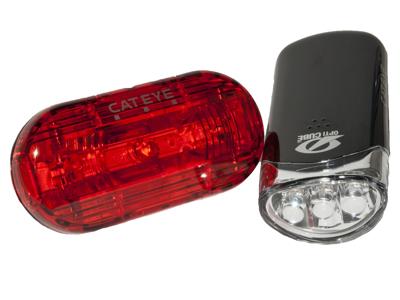 Cateye - Lygtesæt - HL-EL135 + Omni 3G