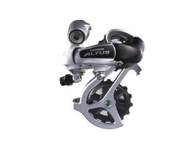 Bagskifter Shimano Altus 3 x 7 gear eller 3 x 8 gear Sølv