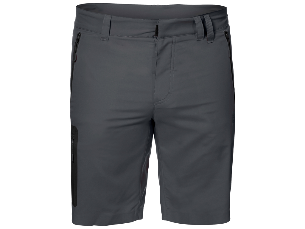 Jack Wolfskin Active Track Shorts - Hr. Str. 48 - Dark Iron thumbnail