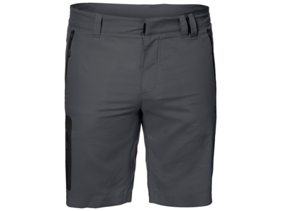 Jack Wolfskin Active Track Shorts - Män - Coke Grey
