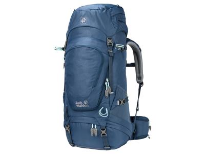 Jack Wolfskin Highland Trail XT 45 - Ryggsekk for kvinner 45 liter - blå