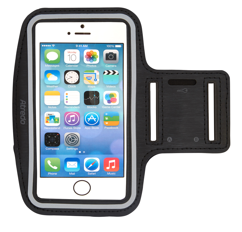 Atredo - Løbearmbånd til smartphone - Til standardmodeller - 4,7