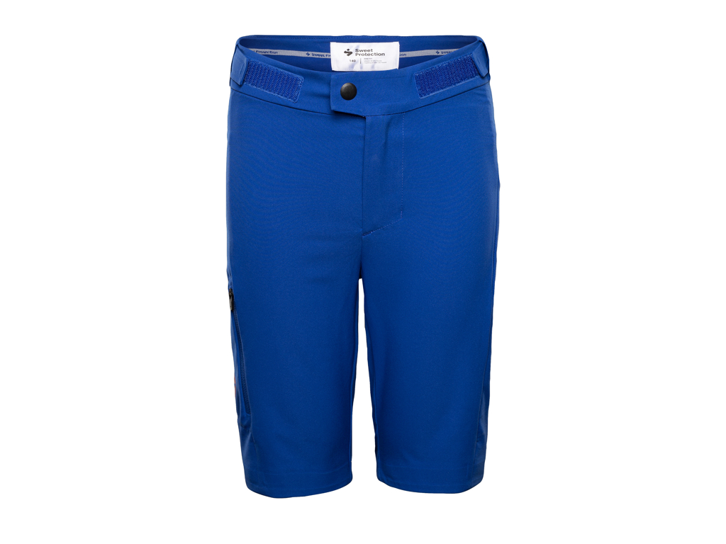 Sweet Protection Hunter Shorts JR - Junior cykelshort - Blå - Str. 164 thumbnail