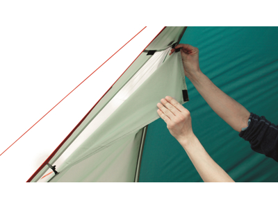 Easy Camp Galaxy 300 - Telt - 3 Personer - Grøn