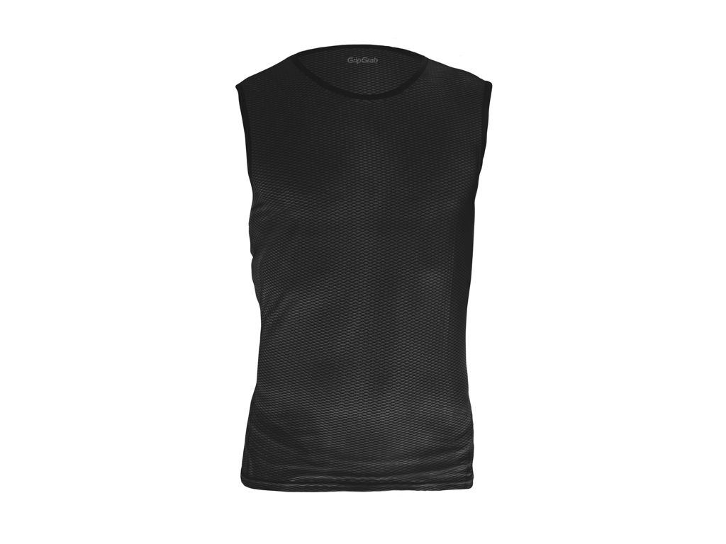 Image of   GripGrab UL SL Mesh Base Layer 6015 - Svedundertrøje u. ærme - Sort - Str. L