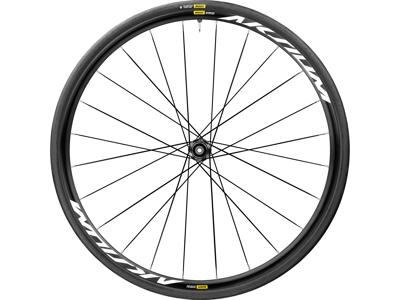 Mavic Aksium Elite UST Disc - Tubeless Baghjul inkl. dæk - Shimano/Sram - 6 bolt - 700x28c